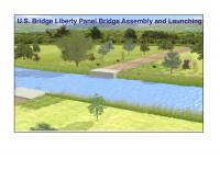 U.S. Bridge Liberty Panel Bridge Animation