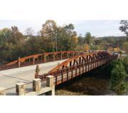 'The Island' truss bridge