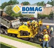 Featuring the industry's largest drive tire, the BOMAG CR552 mainline paver provides 35% greater footprint than comparable pavers for increased floatation, draw-bar pull and superior tractive effort. Combined with its 260 hp Tier 4i diesel engine and 16.7-ton hopper capacity, the CR552 delivers more power and production capabilities at paving widths reaching 30 ft for projects ranging from interstates and highways to heavy industrial and airports.