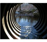 Snap-Tite offers an interior open-profiled HDPE pipe designed to enhance aquatic life passage