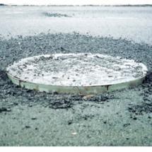 Pivoted Turnbuckle Manhole Riser
