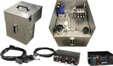 Central Hydraulic System with Garmin GPS Ground-speed Control