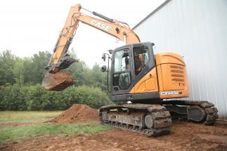 Case CX145D SR excavator