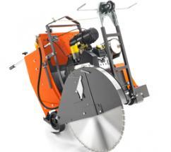 The Husqvarna FS 3500 G is a self-propelled 37-hp flat saw