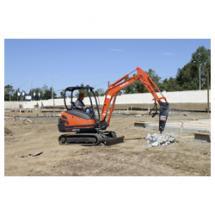 compact excavator, the KX71-3