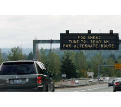 Highway Advisory Radio with Road Weather Information System