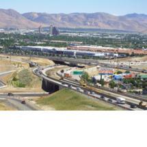 U.S. 395/Clear Acre Interchange