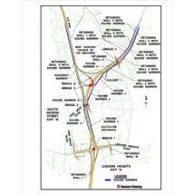 I-83 Relocation/Improvement, Exits 14 and 15