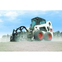 Bobcat planer attachments are an economical solution designed to work well on a wide range of Bobcat compact loaders