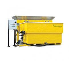 the new AccuBatch brine maker and the AccuBrine automated brine maker