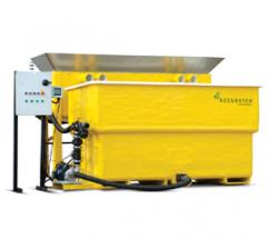 the new AccuBatch brine maker and the AccuBrine automated brine maker.