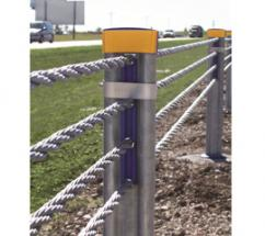 Safence is the high-tension cable barrier by Gregory Industries.