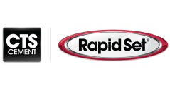 CTS Cement Manufacturing Corp. & Rapid Set Products logos