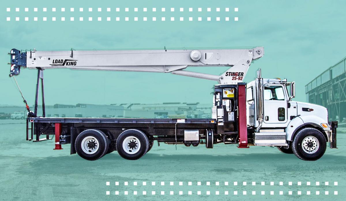 Load King acquires Terex boom, crossover, truck crane