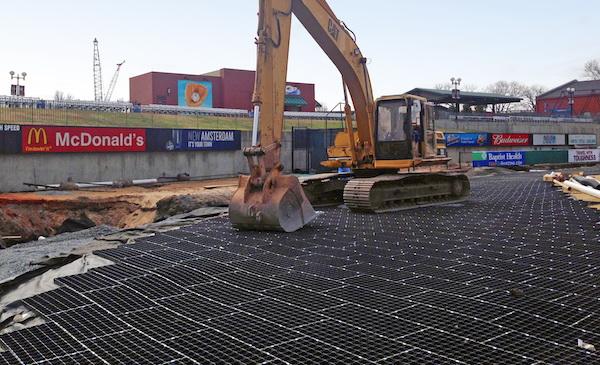 Presto's Geoterra HDPE mats