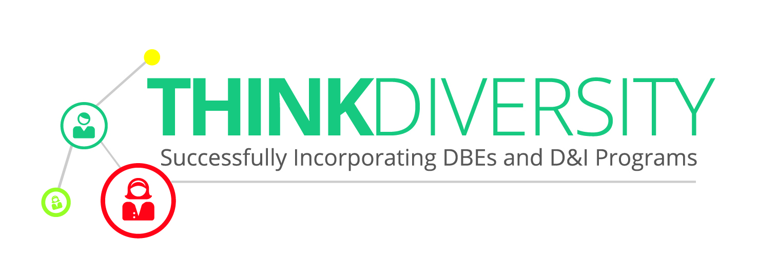 think diversity, webinar, dbe, d&i, programs, about, infrastructure