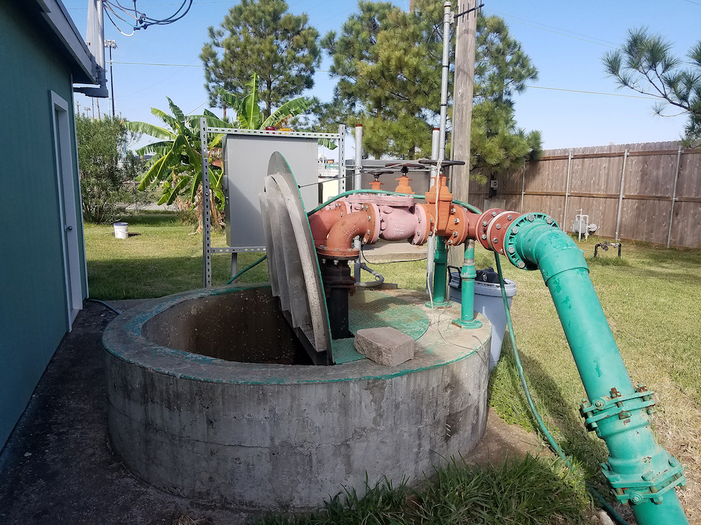 Pumps Prevent Sewer Backups During Hurricane Harvey
