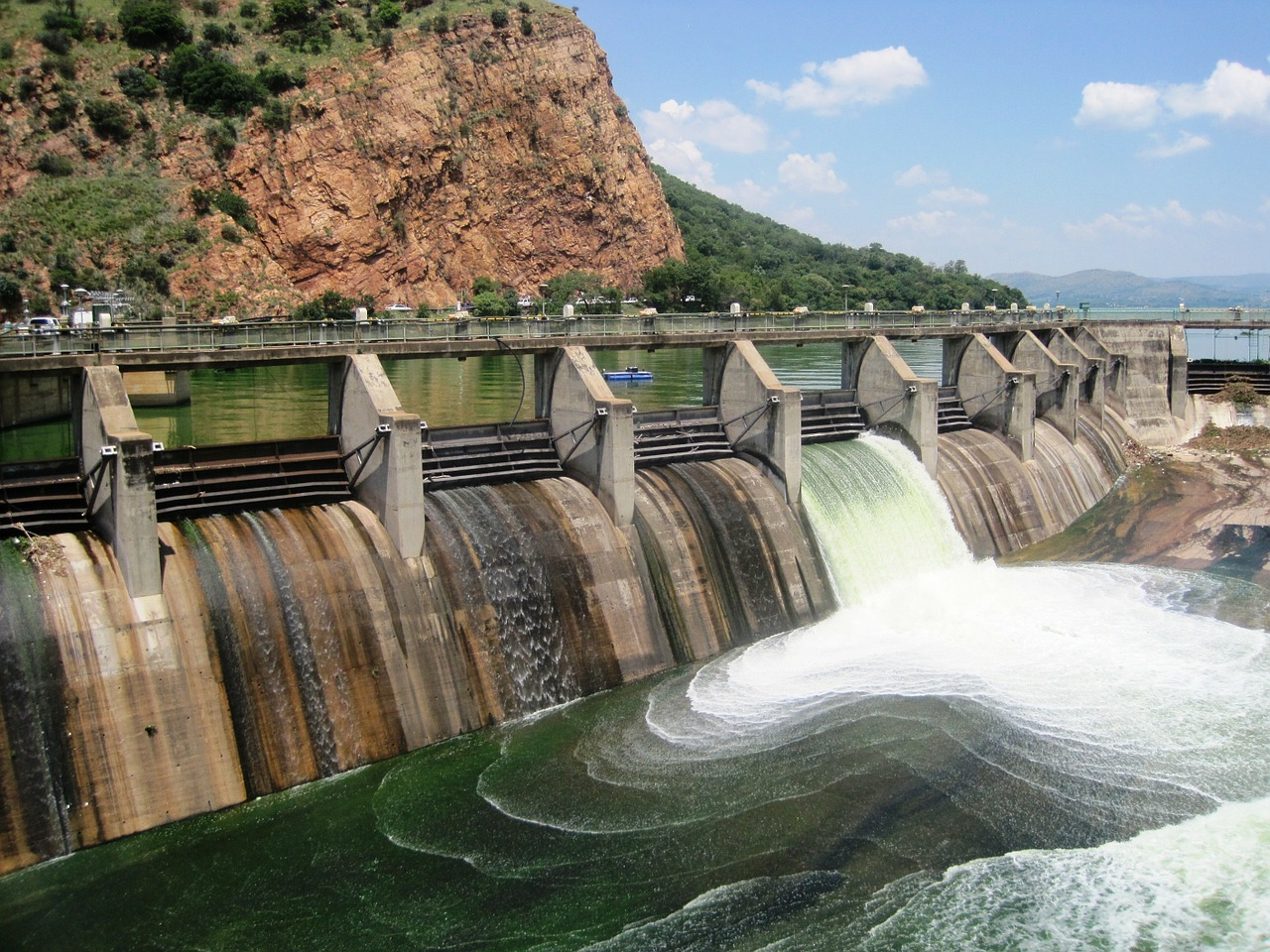Dam removal uses drones to monitor sediment movement