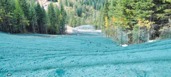 erosion control, Idaho landslide, soil stabilization, hydroseeding