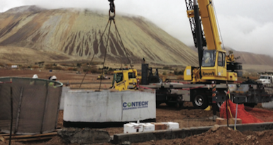 Utah mine adds storm water treatment system during parking lot renovation