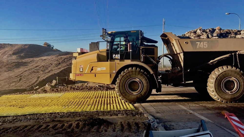 Trackout Control System Manages Safety Risks at Florida Highway Project