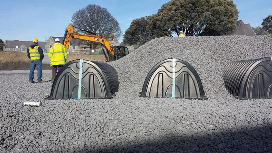 Grangegorman Development Agency storm water sewers drainage Cultec