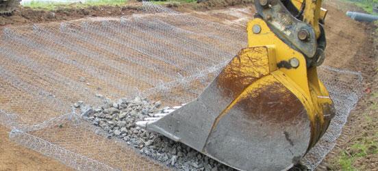 Macaferri West Virginia Erosion Control Wastewater Plant