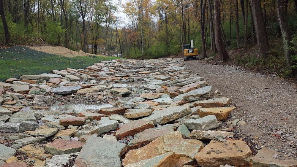 Stream restoration in Cincinnati improve storm water management
