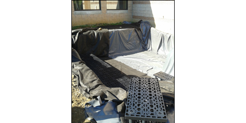 The system's impermeable liner will prevent infiltration and ensure that capture