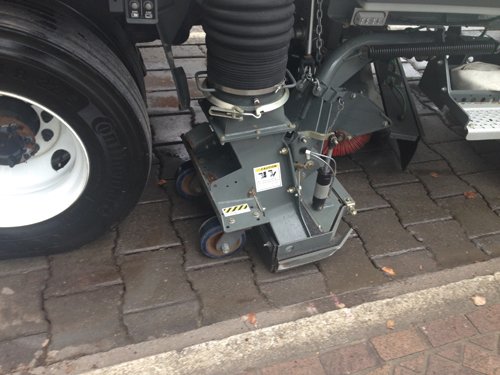 Paver Manufacturer Cleans Installed Systems With Vacuum Sweepers