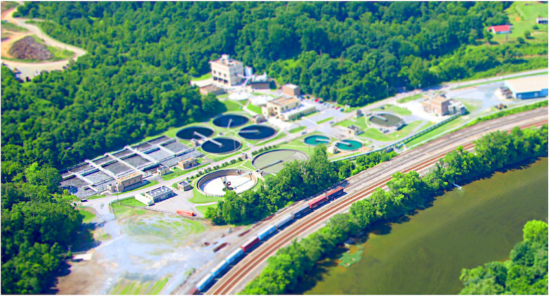 The majority of the combined flows are transported to the Lynchburg Regional Wastewater Treatment Facility.