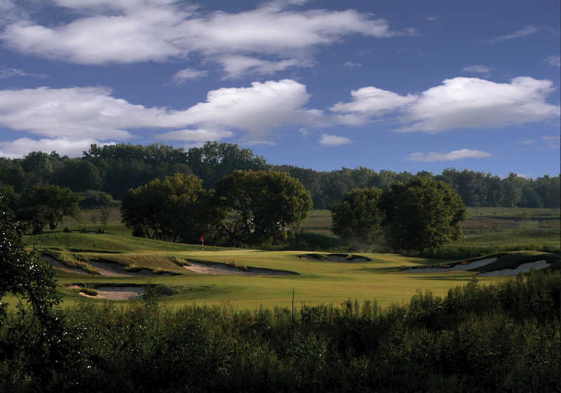 Only 89 acres of the 248-acre golf course corridor are maintained as manicured turf.