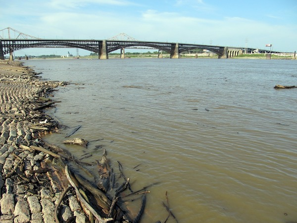 Residents in both Mississippi and Arkansas forced to evaluate as more flooding breaks levees