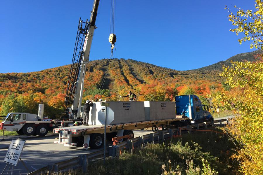 Vermont ski resort installs BMP to treat runoff from parking lot