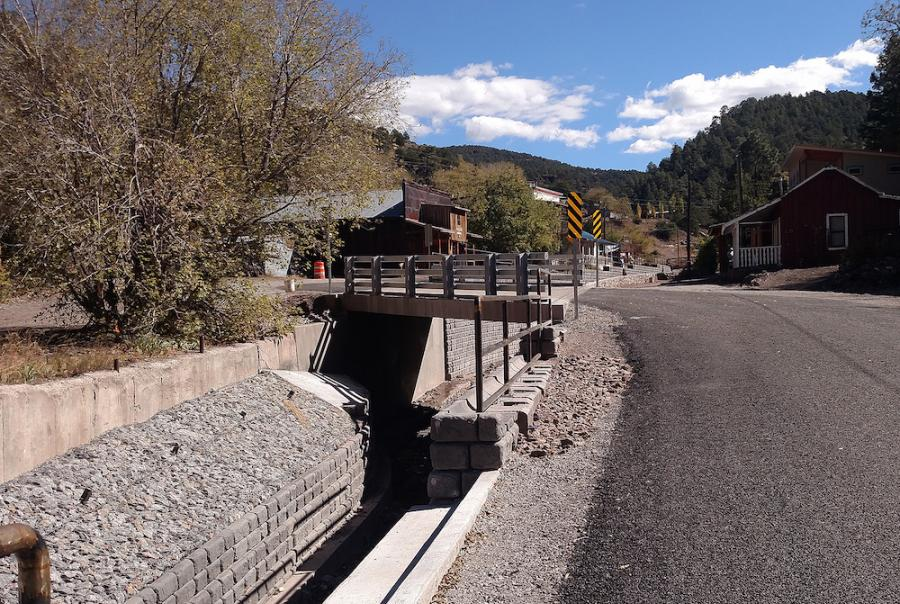 Road Repair Protects New Mexico Ghost Town From Flooding
