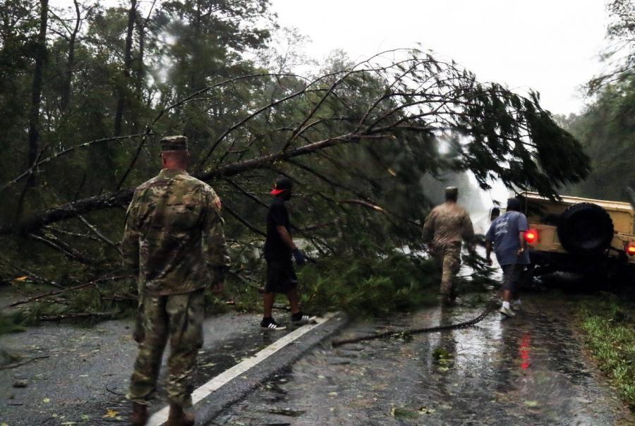 Hurricane Michael brings flooding and destruction