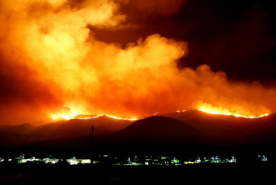 Wildfires bring threat of erosion