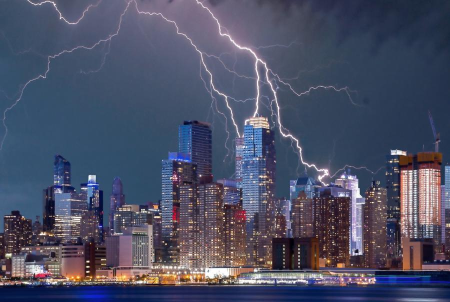 East Coast storms claim lives, leads to flooding and baseball-sized hail