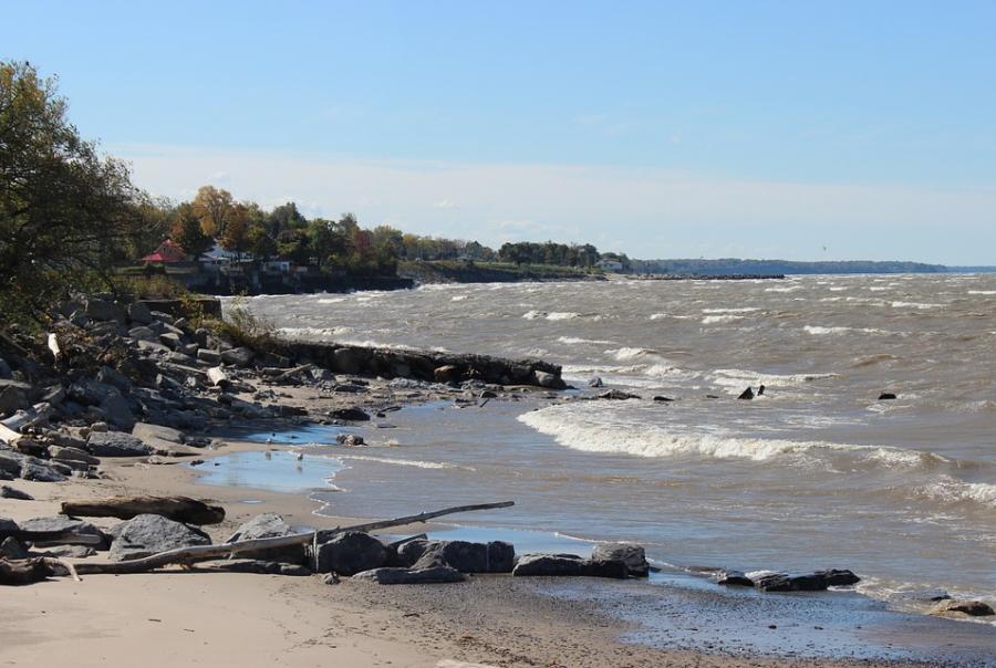 Erosion control measures needed on bones beach