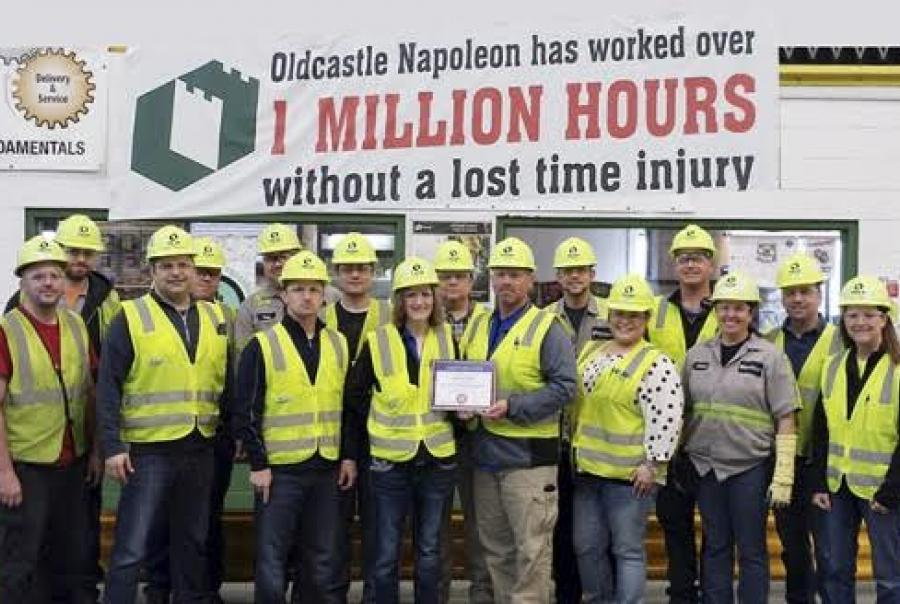 Oldcastle Precast, safety accomplishment
