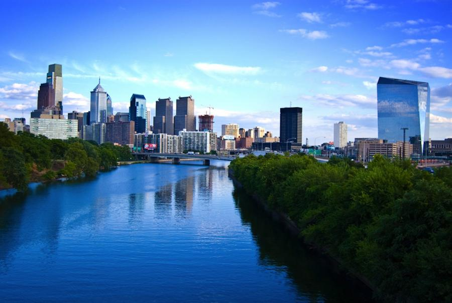 Philadelphia opens two new storm water runoff retention basins