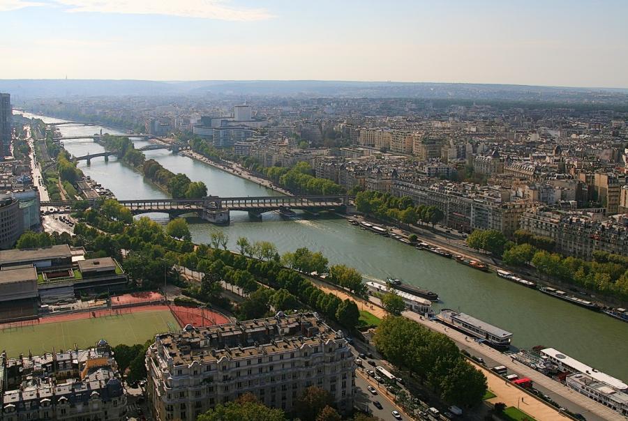 Paris Sewers Flood Control Seine River