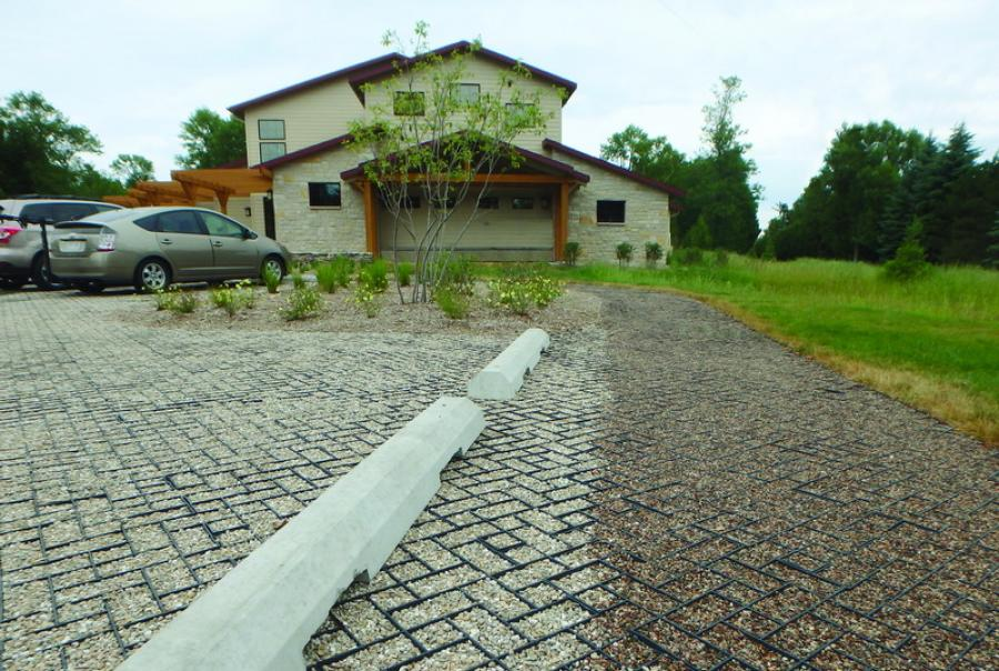 Presto Geosystems porous pavements the Ridges Sanctuary Wisconsin