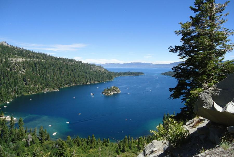 Lake Tahoe to improve clarity