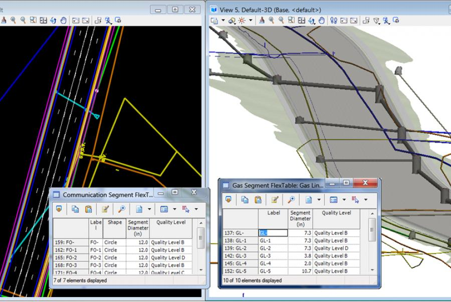 Bentley Systems Inc. SUE 3-D Modeling Interactive Inspection Clash Resolution