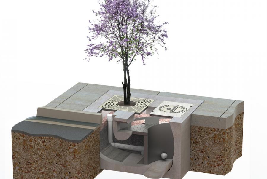 Biopod tree module