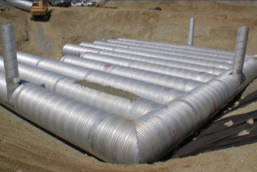 Ontario, Calif., retail development installs infiltration system to comply with LID regulations