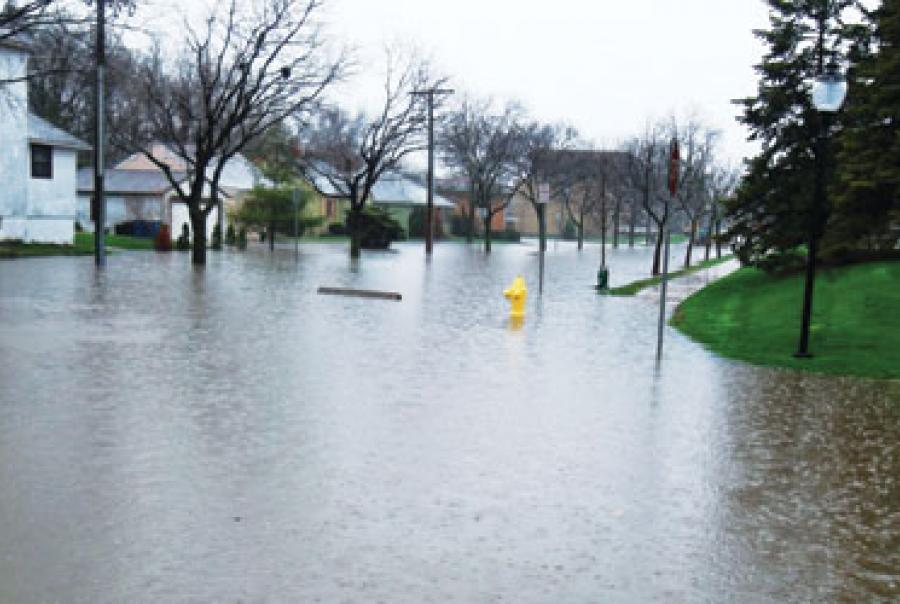Downer's Grove Illinois Flood Control Storm Water Management