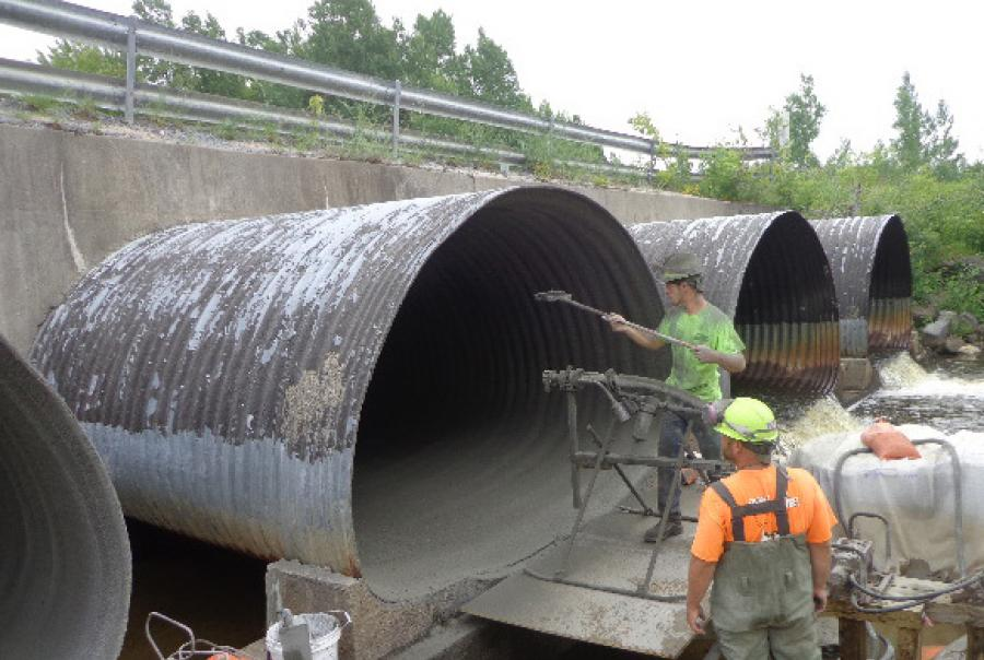 Fort Drum Rehabilitates Four Large Road-Supporting Parallel Pipes