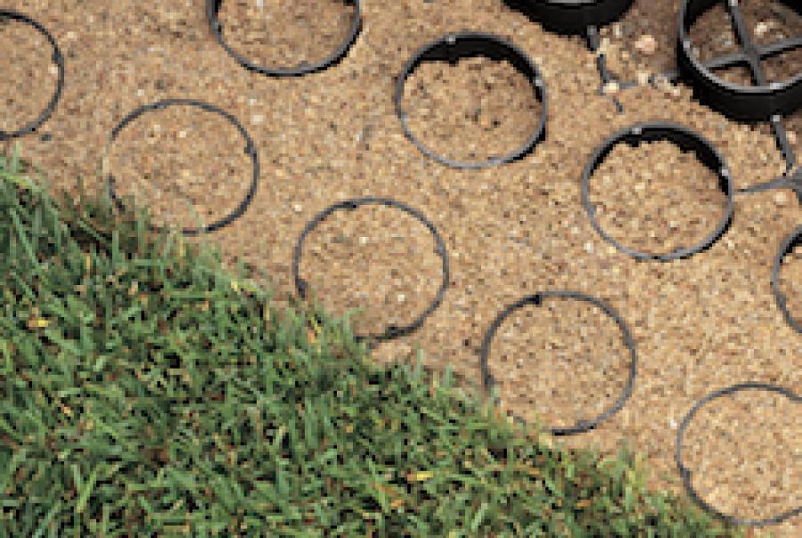 Porous Grass Paver
